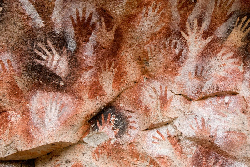 French Cave Paintings Hands